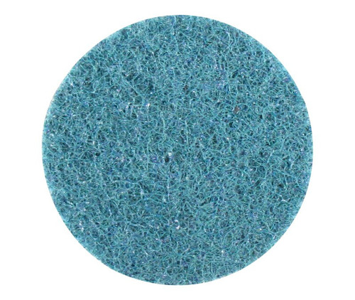 "3M™ 048011-05523 Scotch-Brite™ Roloc™ Blue A/O Very Fine SC-DR 2"" Surface Conditioning Disc"