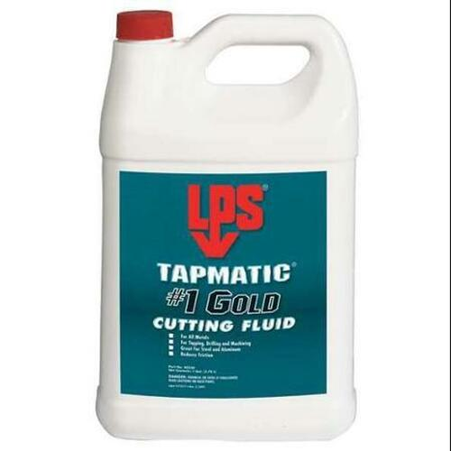 LPS 3® 40330 Tapmatic #1 Gold Cutting Fluid - Plastic Gallon Jug