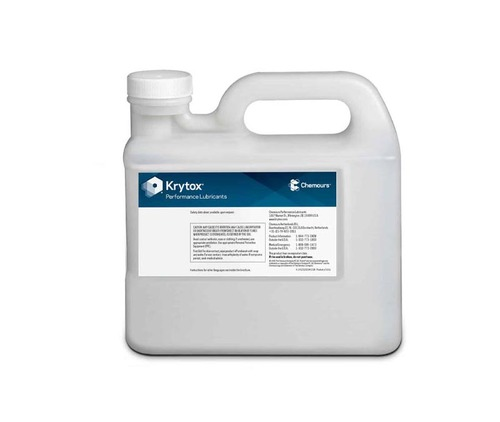 Chemours™ Krytox™ 143 AA Clear Synthetic Aerospace Lubricating Oil - 5 Kg Jug