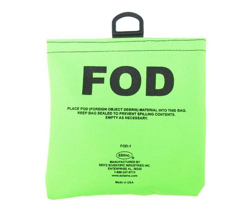 """Seitz Scientific FOD-1 Fluorescent Green FOD Bag with 58"""" Belt"""