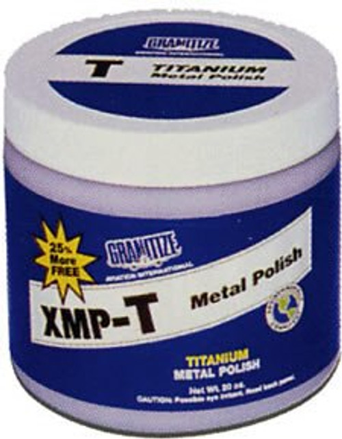 GRANITIZE™ Aviation XMP-T Titanium Grade Deep Scratch Metal Polish - 20 oz Plastic Jar
