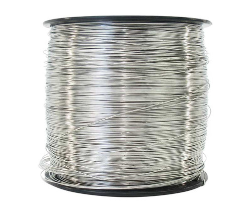 """Military Standard MS20995C20 Stainless Steel 0.020"""" Diameter Safety Wire - 5 lb Spool"""