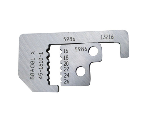 Ideal 45-1610-1 Replacement Wire Stripper Blade Set - 16-26 AWG