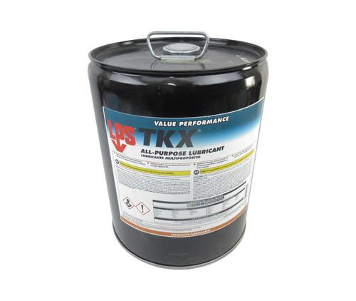 LPS® 02005 TKX Dark Green All-Purpose Penetrant Lubricant - 5 Gallon Steel Pail