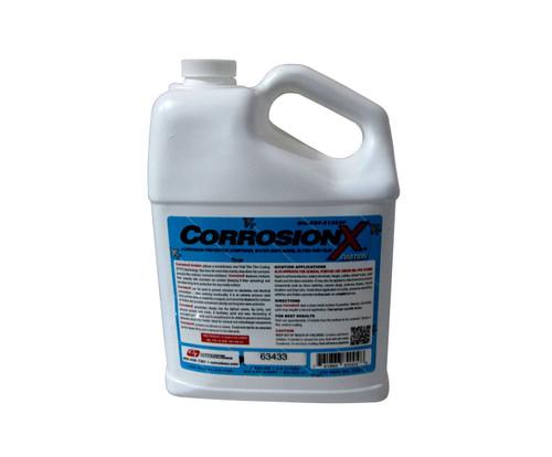 CorrosionX® 84004 Clear MIL-PRF-81309F Type II, Class II Spec Aviation Corrosion Inhibitor - Gallon Jug