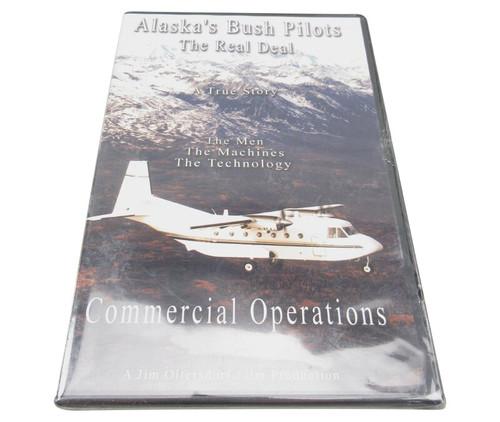 "Alaska's Bush Pilots The Real Deal ""Commercial Operations"" DVD"