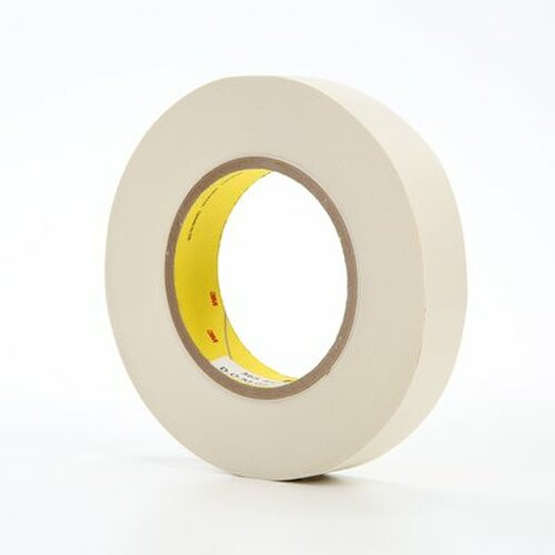 """3M™ 021200-03020 Scotch® 365 White 8.3 Mil Thermosetable Glass Cloth Tape - 1"""" x 60 Yard Roll"""