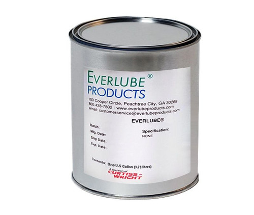 Everlube® 9001 Gray BMS 3-8F Type II Spec Water Based MoS2/Graphite Based Solid Film Lubricant - Gallon Can