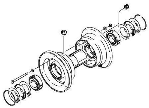 Cleveland Wheel & Brake 40-87 Wheel Assembly