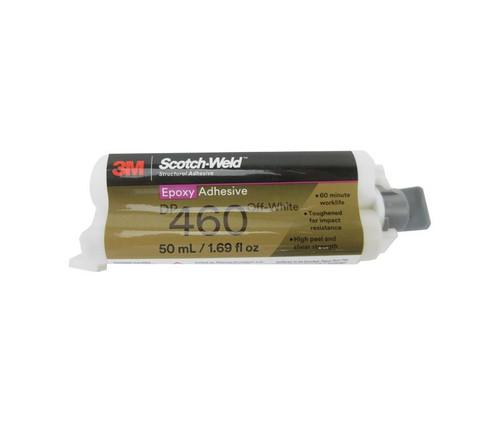 3M™ 638060-08998 Scotch-Weld™ DP-460 Off-White Epoxy Adhesive - 50 mL Cartridge