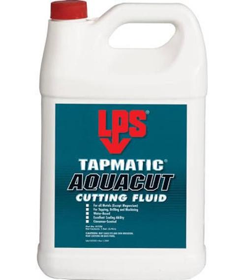 LPS® 01228 Tapmatic AquaCut Blue/Green Water-Based Cutting Fluid - Plastic Gallon Jug