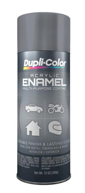 DUPLI-COLOR® DA1612 Machinery Gray Multi-Purpose Acrylic Enamel Paint - 340 Gram (12 oz) Aerosol Can