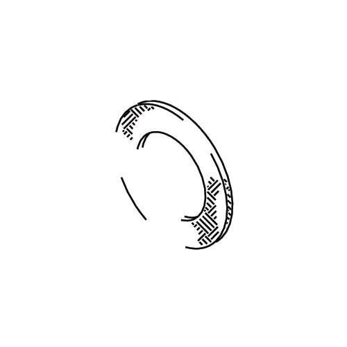 Cleveland Wheel & Brake 154-01400 Felt-Grease Seal