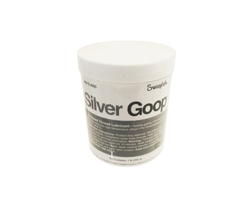 Swagelok® MS-TL-SGC Silver Goop™ Anti-Seize - 1 lb Can
