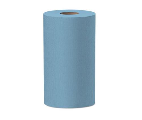 """WypAll® 35411 X60 Blue 9.8"""" x 13.4"""" Wiper - 130 Sheet/Roll"""