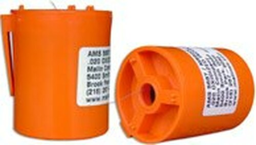 """Military Standard MS9226-01 Oxidized Inconel 0.016"""" Diameter Safety Wire -1 lb Roll"""