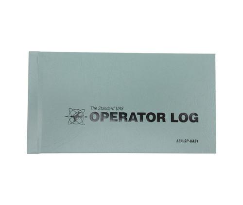 Aviation Supplies & Academics ASA-SP-UAS1 Gray The Standard™ Remote Pilot (UAS) Operator Log Book