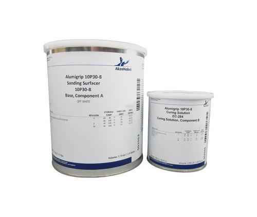 AkzoNobel 10P30-8/EC-284 Alumigrip Off-White Two-Component High Build Epoxy Surfacer - 1.25 Gallon Kit