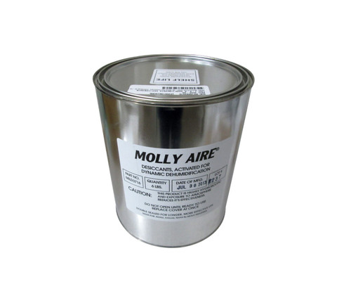 Military Specification MIL-D-3716 Type IV, Grade H Blue Beaded Indicating Silica Gel - Gallon Can