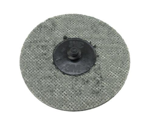 "3M™ 048011-05529 Scotch-Brite™ Roloc™ Gray 3"" SC-DR Super Fine, TR Surface Conditioning Disc"