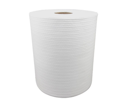 """WypAll® 83571 X70 White 9.75"""" x 13"""" Wipers in a Bucket Refill - 220 Wipes/Roll"""