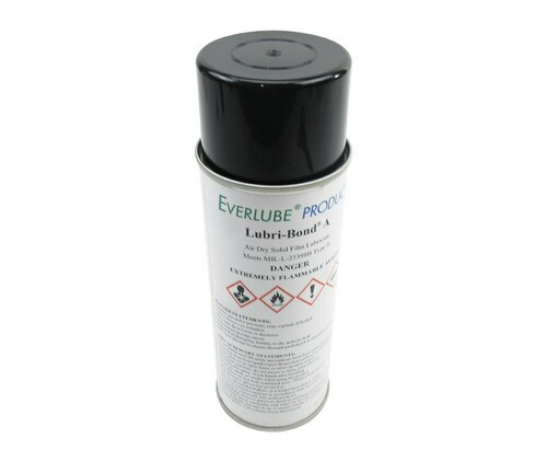 Everlube® Lubri-Bond® A Gray/Black MIL-L 23398B Type II Spec Air Dry MoS2 Graphite Solid Film Lubricant - 12 oz Aerosol Can