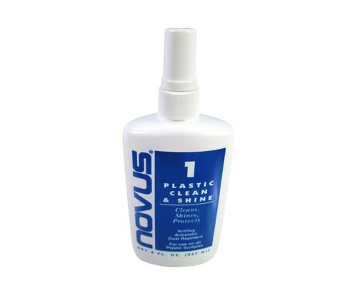 NOVUS 7020 Plastic Polish Clean & Shine #1 - 8 oz Bottle