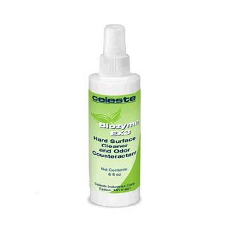 Celeste® LS-7200/6 BIOZYME EX3® Enzymatic Cleaner, Deodorizer & Fabric Freshener - 6 oz Pump-Spray Bottle