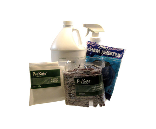 Pantheon® 065-1072 PreKote® Clear MIL-PRF-32239 Spec Surface Pretreatment & Adhesion Promoter - Large Area Repair Kit