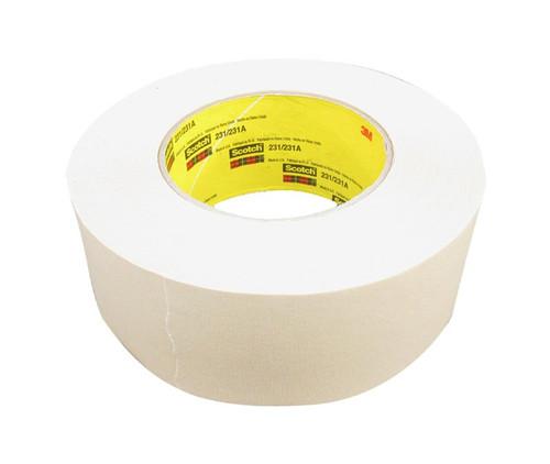 3M™ 021200-04237 Scotch® 231/231A Tan 7.6 Mil Paint Masking Tape - 48 mm x 55 m Roll