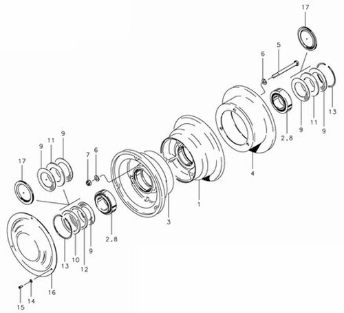 Cleveland Wheel & Brake 40-59A Wheel Assembly