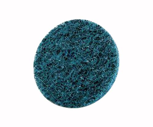 "3M™ 048011-25770 Scotch-Brite™ Roloc™ Sc-Dm Blue 2"" Very Fine Surface Conditioning Disc - 50 Discs/Pack"
