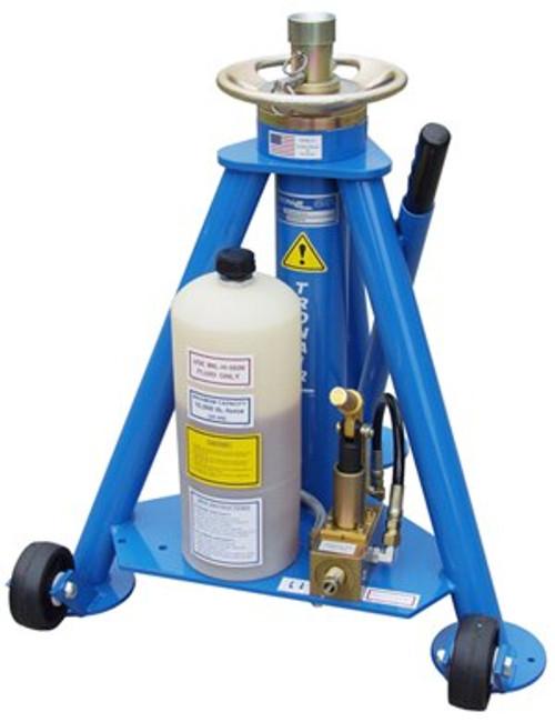 Tronair® 02A0524C0110 Blue Hydraulic Tripod Jack (5 ton/4.5 metric ton) (CE)
