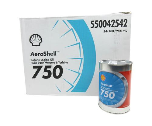 AeroShell™ Turbine Oil 750 Synthetic Turbine Engine Oil - Quart Can