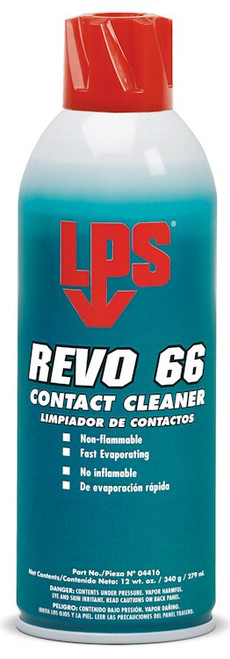 LPS® 04416 REVO 66 Contact Cleaner - 12 oz Aerosol Can