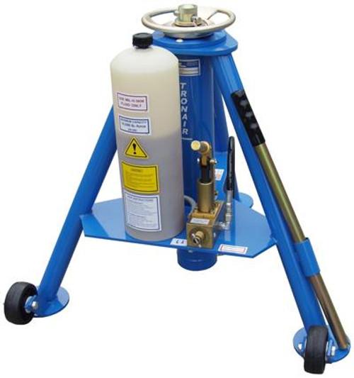 Tronair® 02-0527C0140 Blue Hydraulic Tripod Forward Jack (5 ton) (CE)