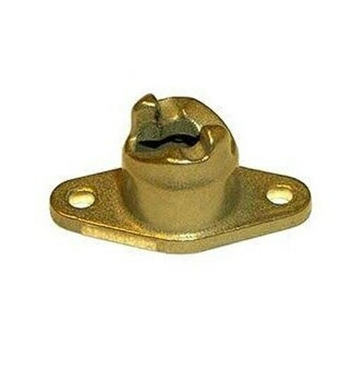Camloc® 212-12SD Crescent Steel Passivate Coated Countersunk Receptacle