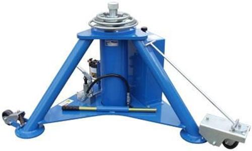 Tronair® 02A7845C0120 Blue Hydraulic Nose Jack with Air Pump (10 ton/9 metric ton) (CE)