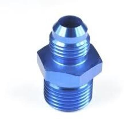 Aeronautical Standard AN816-16D Aluminum Pipe to Tube Straight Adapter