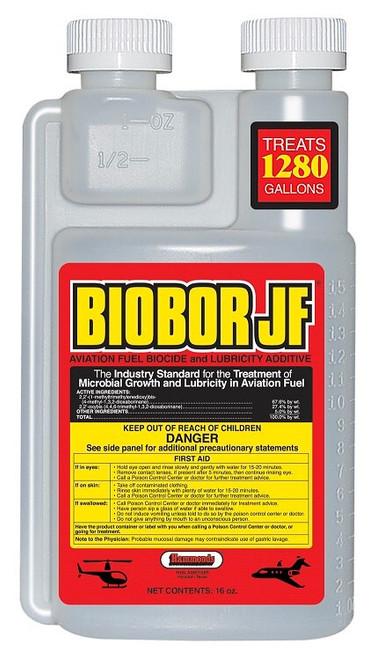 Biobor JF® BB16EZ01US Aviation Fuel Biocide & Lubricity Additive - 16 oz Bottle