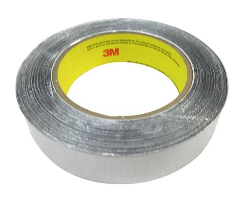 """3M™ 051125-85388 Silver 425 Aluminum 4.6 Mil Foil Tape - 1"""" x 60 Yard Roll"""