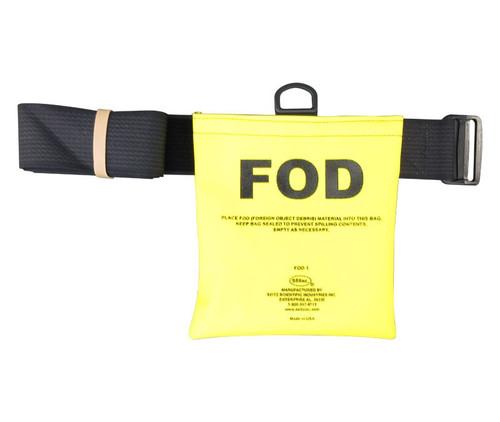"Seitz Scientific FOD-1 Fluorescent Yellow FOD Bag with 58"" Belt"
