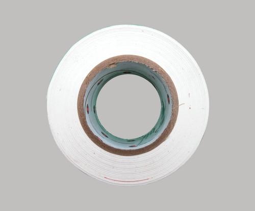 "Luminary Air Group M9948-3000 White Matte Polyethylene Tape - 3"" x 60 Yard Roll"