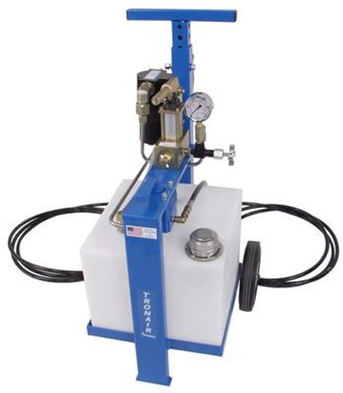 Tronair® 06-5004C3600 Blue 4000 PSI Phosphate Ester Fluid Type 8-Gallon Hydraulic Component Test Cart