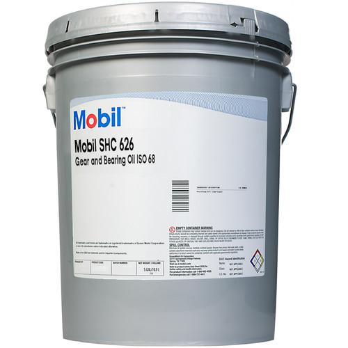 Mobil™ SHC™ 626 Orange ISO 68 Gear & Bearing Oil - 5 Gallon Pail