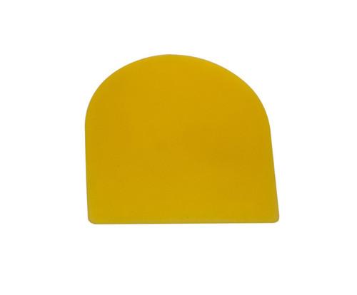 "E-Z MIX 51002 Yellow Plastic 2"" Filler Spreader"