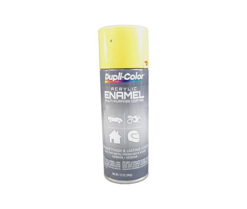 DUPLI-COLOR® DA1687 Chrome Yellow (Hot Rod Color) Multi-Purpose Acrylic Enamel Paint - 340 Gram (12 oz) Aerosol Can