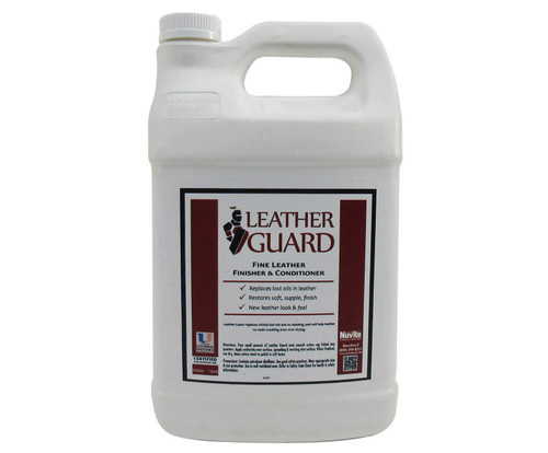 Nuvite PC22281GL Leather Guard Aircraft Fine Leather Conditioner, Cleaner & Finisher - Gallon Jug