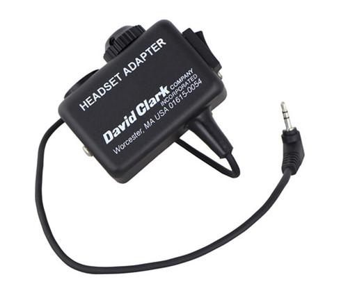 David Clark 18667G-20 Headset Adapter C3021