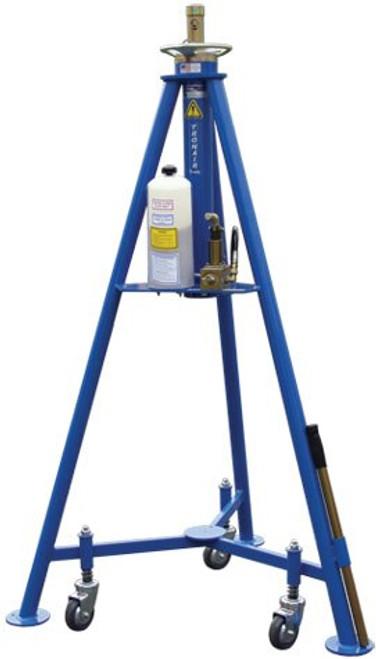 Tronair® 02-0566C0110 Blue Hydraulic Tripod Main Jack (5 ton) (CE)